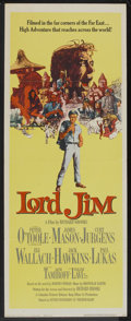 "Movie Posters:Adventure, Lord Jim (Columbia, 1965). Insert (14"" X 36""). Adventure.. ..."