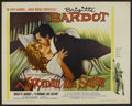"Movie Posters:Bad Girl, A Woman Like Satan (Lopert, 1959). Half Sheet (22"" X 28""). BadGirl.. ..."