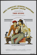 """Movie Posters:Crime, The Sting (Universal, 1973). One Sheet (27"""" X 41"""") Flat-Folded.Crime.. ..."""