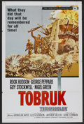 "Movie Posters:War, Tobruk (Universal, 1967). One Sheet (27"" X 41""). War.. ..."