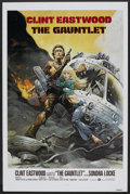 "Movie Posters:Action, The Gauntlet (Warner Brothers, 1977). One Sheet (27"" X 41"") Flat-Folded. Action.. ..."