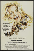 """Movie Posters:Crime, The Sugarland Express (Universal, 1974). British One Sheet (27"""" X40""""). Crime.. ..."""