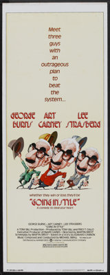 """Going in Style Lot (Warner Brothers, 1979). Inserts (3) (14"""" X 36""""). Comedy. ... (Total: 3 Items)"""
