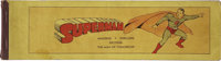 Superman Newspaper Strip Press Book (McClure Syndicate, 1939) Condition: GD/VG