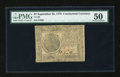 Colonial Notes:Continental Congress Issues, Continental Currency September 26, 1778 $7 PMG About Uncirculated50....