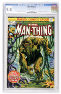 Bronze Age (1970-1979):Horror, Man-Thing #1 (Marvel, 1974) CGC NM/MT 9.8 Off-white to whitepages....