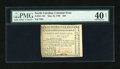 Colonial Notes:North Carolina, North Carolina May 10, 1780 $25 PMG Extremely Fine 40 Net....