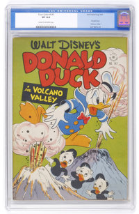Four Color #147 Donald Duck (Dell, 1947) CGC VF 8.0 Cream to off-white pages