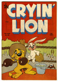 Golden Age (1938-1955):Funny Animal, Cryin' Lion Comics #1 (Wm. H. Wise & Co., 1944) Condition:VF-....