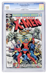 X-Men #156 (Marvel, 1982) CGC MT 10.0 Off-white to white pages