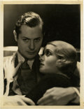 """Movie Posters:Drama, Robert Montgomery and Constance Bennett in """"The Easiest Way"""" byGeorge Hurrell (MGM, 1931). Still (11"""" X 14"""").. ..."""