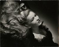 """Veronica Lake by George Hurrell (Paramount, 1942). Still (10.5"""" X 13.5"""")"""