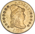 Early Eagles, 1799 $10 Large Stars Obverse AU58 NGC....