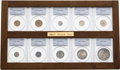 Early Proof Sets, Ten-Piece 1867 Proof Set PR62 to PR64 PCGS.... (Total: 10 coins)