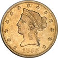 Liberty Eagles, 1855-O $10 AU53 NGC....