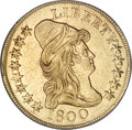 Early Eagles, 1800 $10 --Reverse Scratched--NCS. AU Details. ...