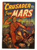 Golden Age (1938-1955):Science Fiction, Crusader from Mars #1 (Ziff-Davis, 1952) Condition: VG+....