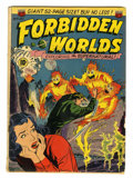 Golden Age (1938-1955):Science Fiction, Forbidden Worlds #2 (ACG, 1951) Condition: GD/VG....