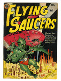 Golden Age (1938-1955):Science Fiction, Flying Saucers #1 (Avon, 1950) Condition: GD+....