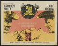 """Movie Posters:Western, Ride the High Country (MGM, 1962). Half Sheet (22"""" X 28""""). Western.. ..."""