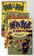 Golden Age (1938-1955):Funny Animal, Ha Ha Comics Group (ACG, 1949-53) Condition: Average GD/VG....(Total: 8 Comic Books)