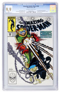Modern Age (1980-Present):Superhero, The Amazing Spider-Man #298 (Marvel, 1988) CGC MT 9.9 Off-white towhite pages....