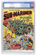 Golden Age (1938-1955):Superhero, Sub-Mariner Comics #1 (Timely, 1941) CGC VF- 7.5 Cream to off-white pages....