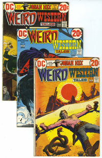 Weird Western Tales Group (DC, 1972-80) Condition: Average FN.... (Total: 42 Comic Books)