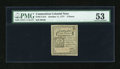 Colonial Notes:Connecticut, Connecticut October 11, 1777 2d PMG About Uncirculated 53....