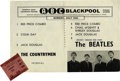 Music Memorabilia:Tickets, Beatles Winter Gardens Concert Ticket Stub. ...