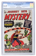 Silver Age (1956-1969):Superhero, Journey Into Mystery #83 (Marvel, 1962) CGC FN 6.0 White pages....