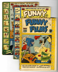 Funny Films Group (ACG, 1949-54) Condition: Average GD/VG.... (Total: 13 Comic Books)