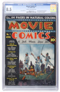 Golden Age (1938-1955):Adventure, Movie Comics #1 (DC, 1939) CGC VF+ 8.5 Cream to off-white pages....