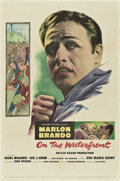 "Movie Posters:Drama, On the Waterfront (Columbia, 1954). One Sheet (27"" X 41"").. ..."