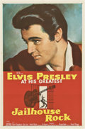 "Movie Posters:Elvis Presley, Jailhouse Rock (MGM, 1957). One Sheet (27"" X 41"").. ..."
