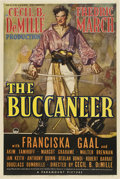 "Movie Posters:Adventure, The Buccaneer (Paramount, 1938). One Sheet (27"" X 41"") Style B.. ..."