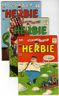 Silver Age (1956-1969):Humor, Herbie Circle 8 pedigree Group (ACG, 1964-67) Condition: Average VF-.... (Total: 9 Comic Books Box Lots)