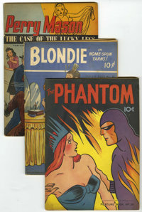Feature Books Group (David McKay, 1940-48) Condition: Average GD/VG, except #48 and 54.... (Total: 18 Comic Books)