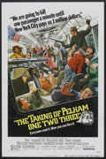 """Movie Posters:Crime, The Taking of Pelham One Two Three (United Artists, 1974). OneSheet (27"""" X 41"""") Flat Folded. Crime.. ..."""