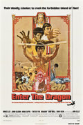 "Movie Posters:Action, Enter the Dragon (Warner Brothers, 1973). One Sheet (27"" X 41"").. ..."