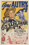 "Movie Posters:Western, The Old Barn Dance (Republic, 1938). One Sheet (27"" X 41"").. ..."