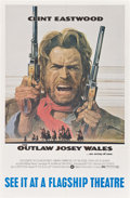 "Movie Posters:Western, The Outlaw Josey Wales (Warner Brothers, 1976). Oversized One Sheet (29"" X 44.5"").. ..."