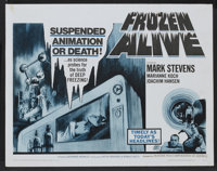 "Frozen Alive Lot (Feature Film Corporation of America, 1964). Half Sheets (2) (22"" X 28""). Science Fiction..."