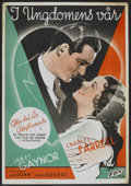 "Movie Posters:Drama, Change of Heart (Fox, 1934). Swedish One Sheet (27.5"" X 39.5"").Drama.. ..."