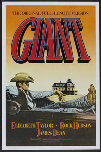 "Giant (Kino International, R-1982). One Sheet (27"" X 41""). Drama"