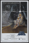 "Movie Posters:Science Fiction, Star Wars (20th Century Fox, 1977). One Sheet (27"" X 41"") Style Aand Lobby Card (11"" X 14""). Science Fiction.. ... (Total: 2 Items)"