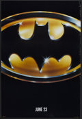 "Movie Posters:Action, Batman (Warner Brothers, 1989). One Sheet (27"" X 41"") Advance.Action.. ..."