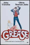 """Movie Posters:Musical, Grease (Paramount, 1978). New York One Sheet (29.5"""" X 45"""") Advance. Musical.. ..."""
