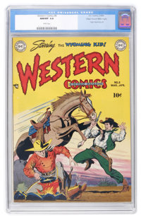 Western Comics #8 Mile High pedigree (DC, 1949) CGC NM/MT 9.8 White pages