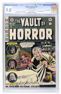 Golden Age (1938-1955):Horror, Vault of Horror #24 Gaines File pedigree 7/11 (EC, 1952) CGC VF/NM9.0 Off-white to white pages....